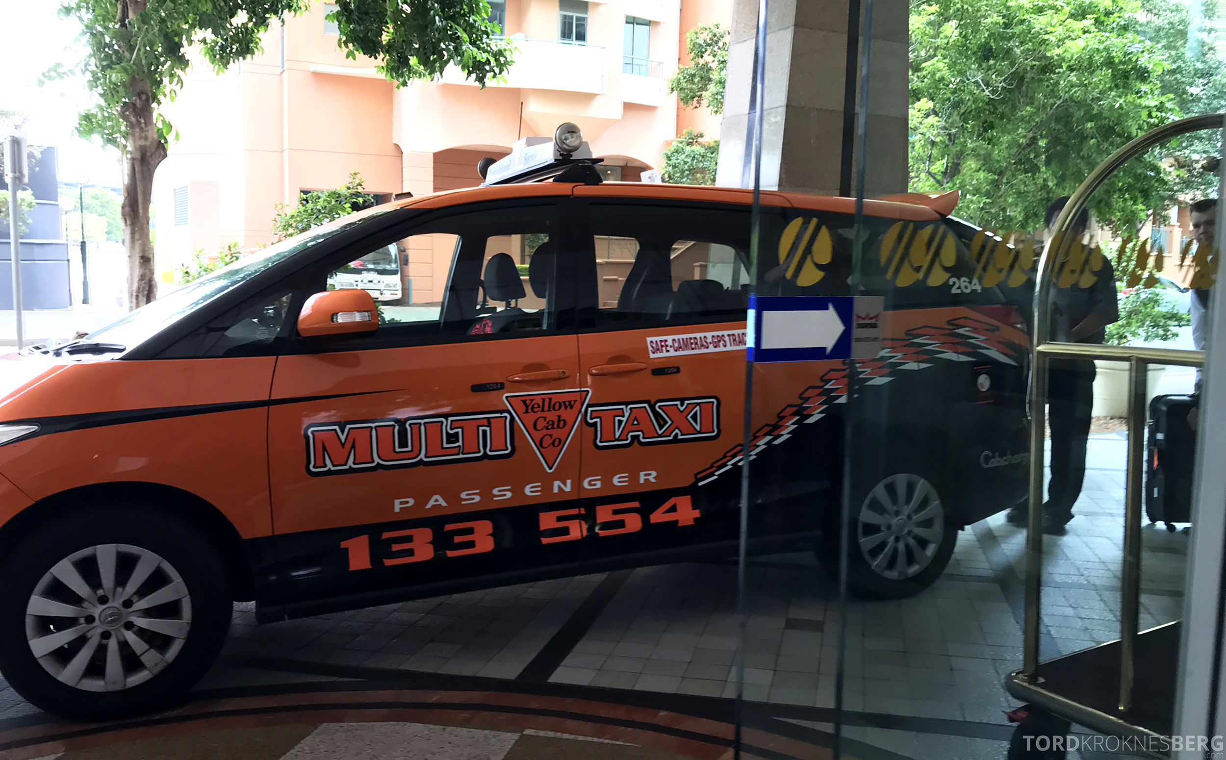 Brisbane Marriott Hotel taxi