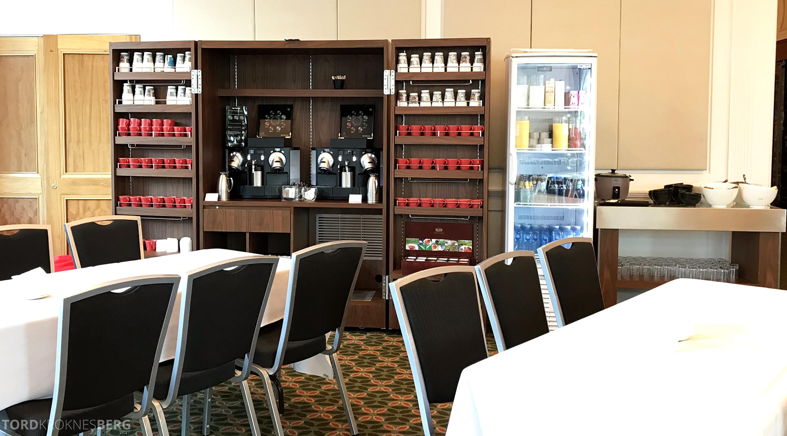 Brisbane Marriott Hotel Executive Lounge drikkesftasjon