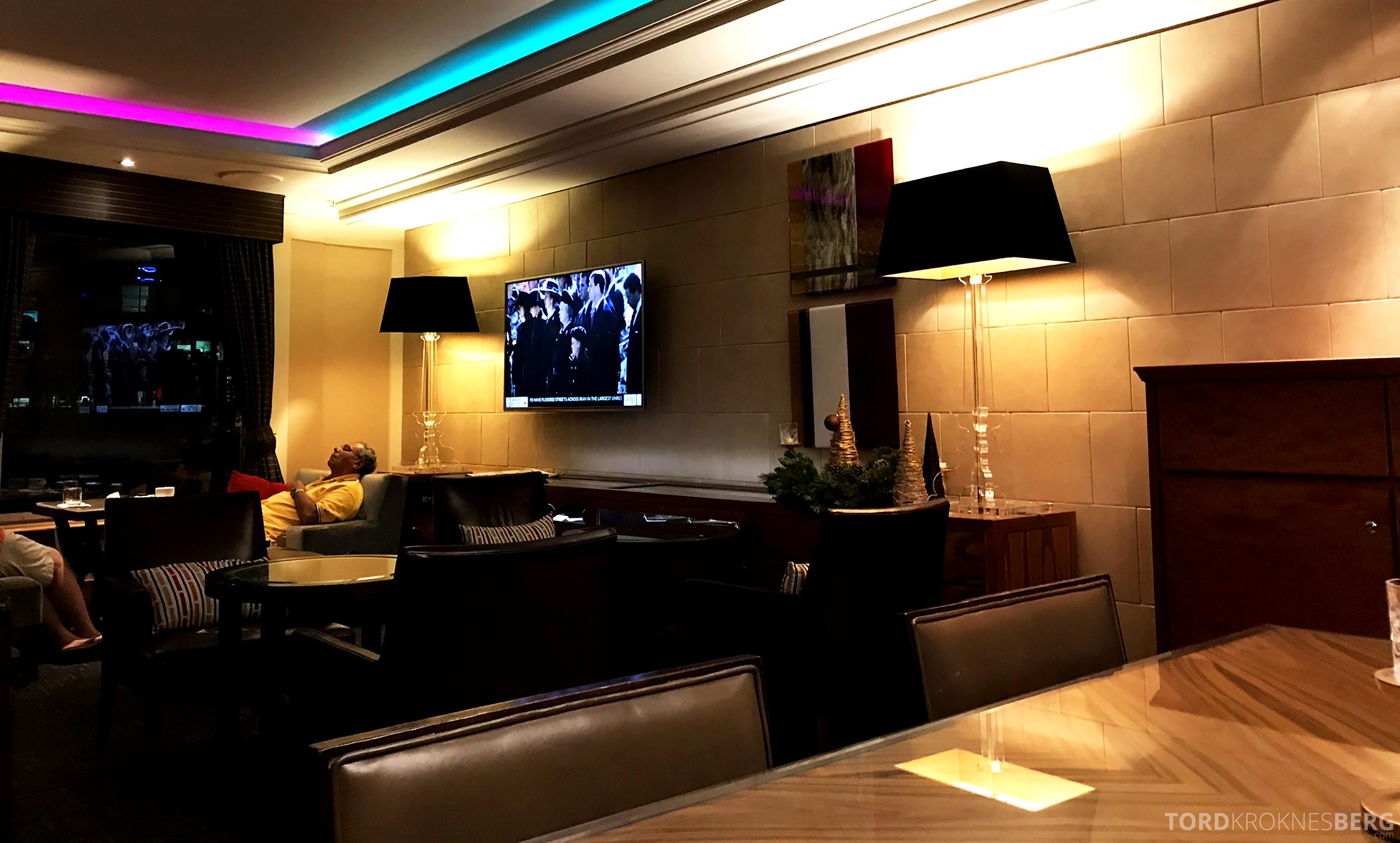 Brisbane Marriott Hotel Executive Lounge sitteplasser