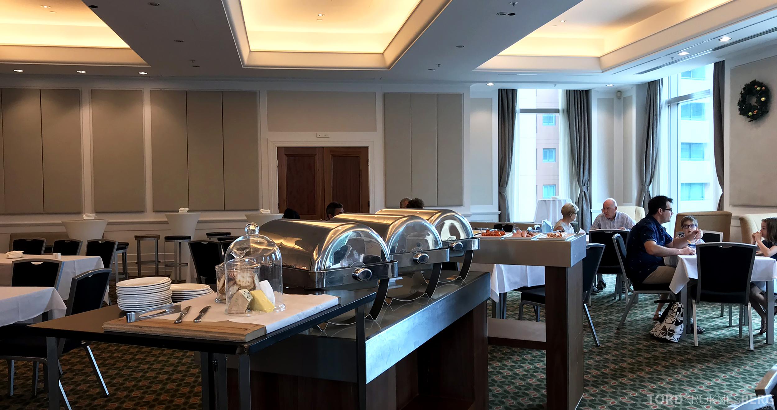 Brisbane Marriott Hotel Executive Lounge frokost ballroom