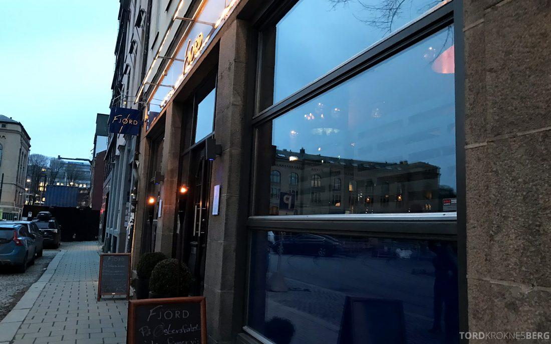 Restaurant Fjord Oslo fasade