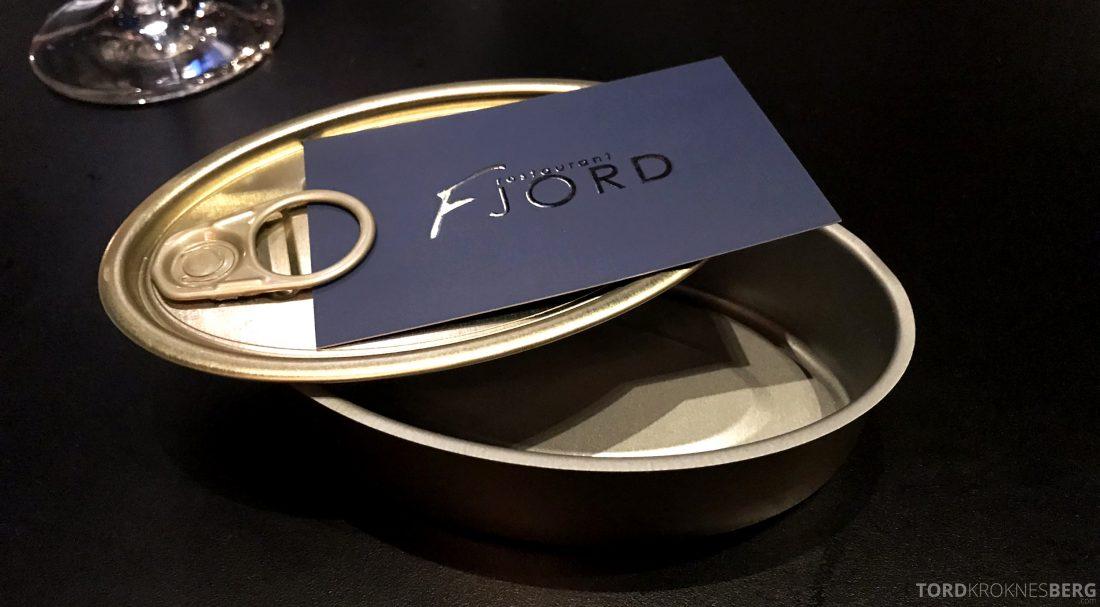 Restaurant Fjord Oslo regning