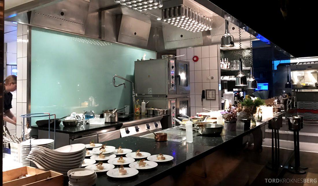 Restaurant Fjord Oslo åpent kjøkken