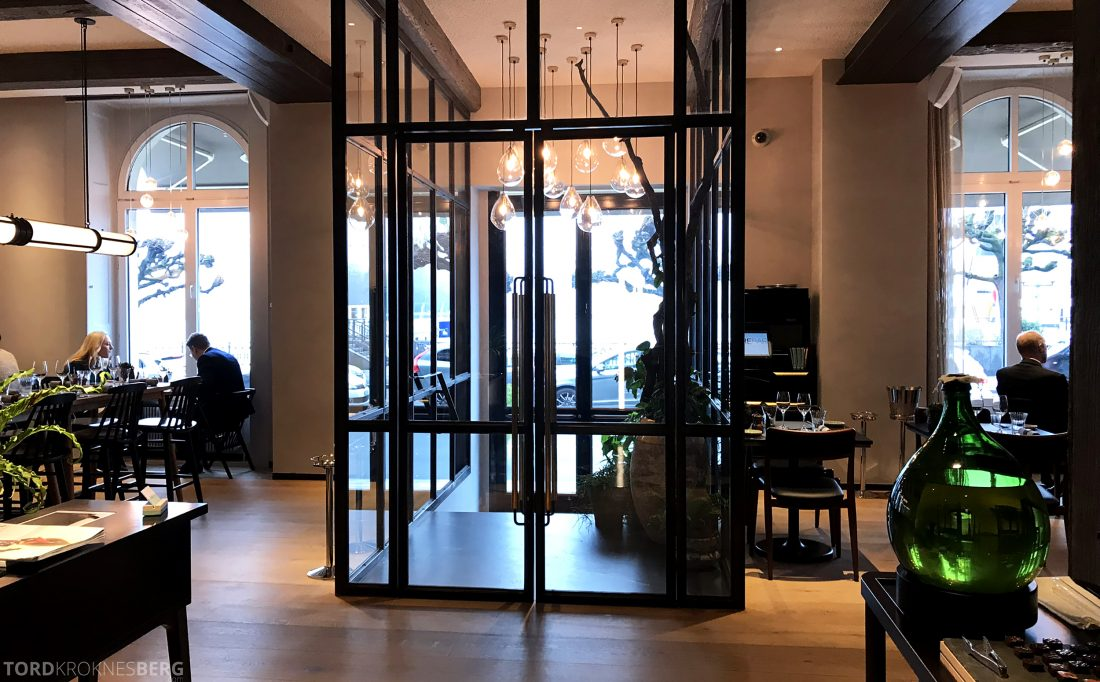 Ritz-Carlton Hotel de la Paix Genève fiskebar