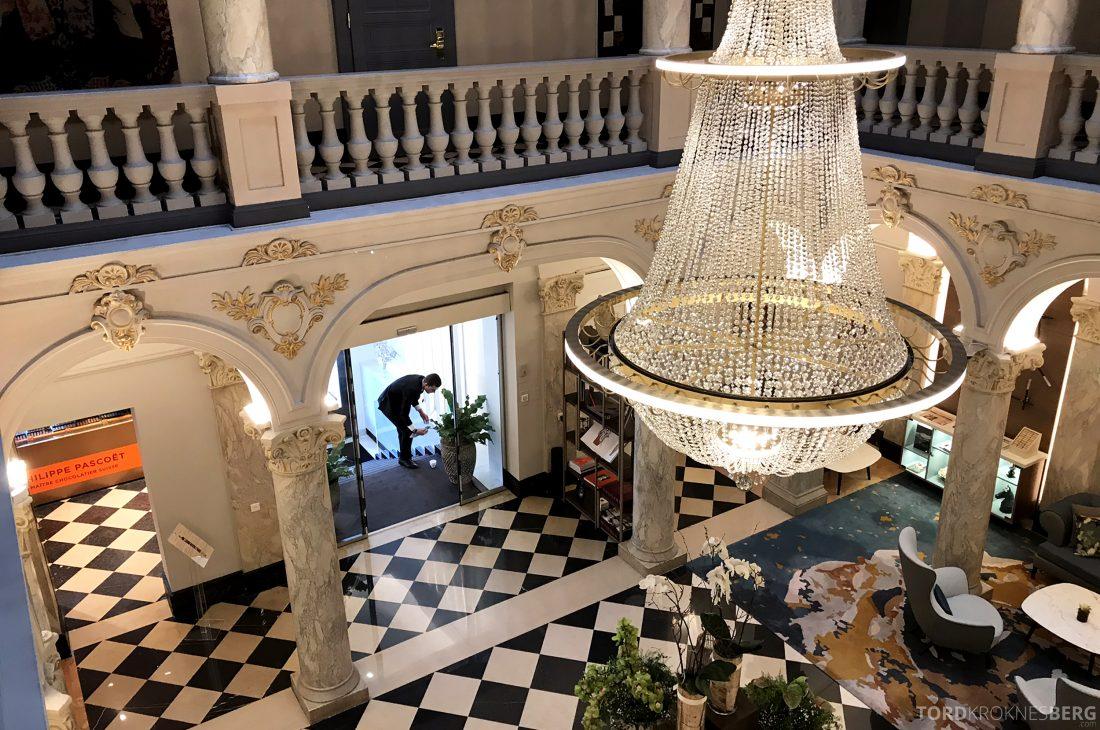 Ritz-Carlton Hotel de la Paix Genève lobby