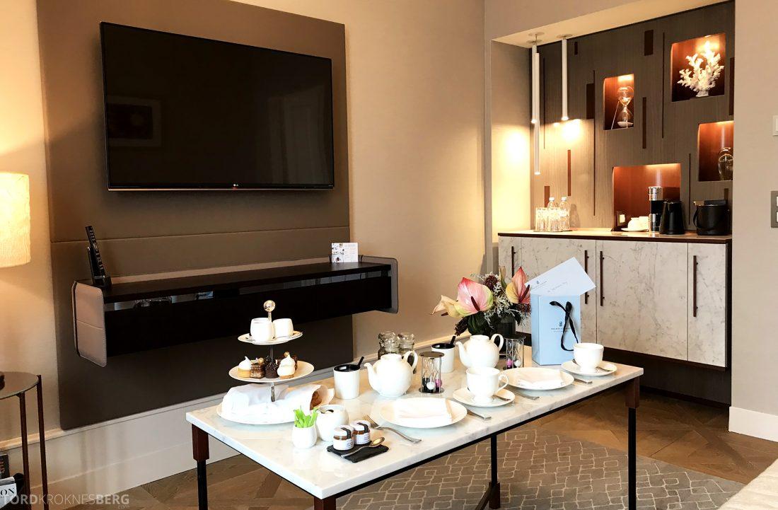 Ritz-Carlton Hotel de la Paix Genève velkomstgave