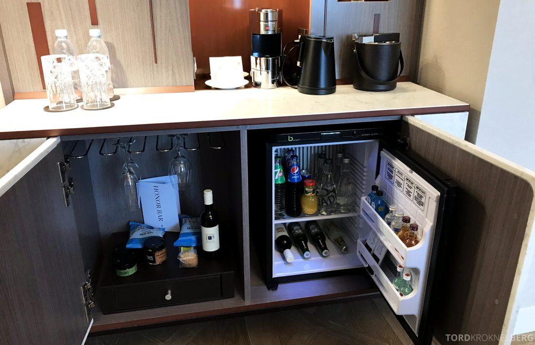 Ritz-Carlton Hotel de la Paix Genève minibar