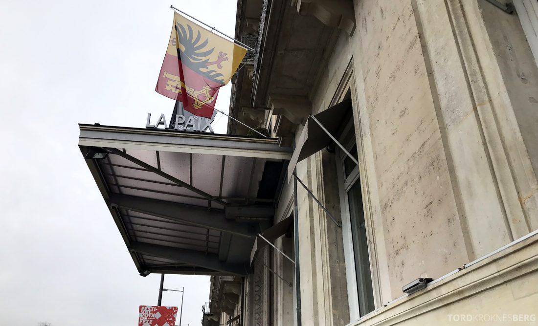 Ritz-Carlton Hotel de la Paix Genève velkommen