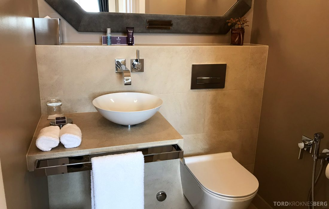 Ritz-Carlton Hotel de la Paix Genève gjestetoalett