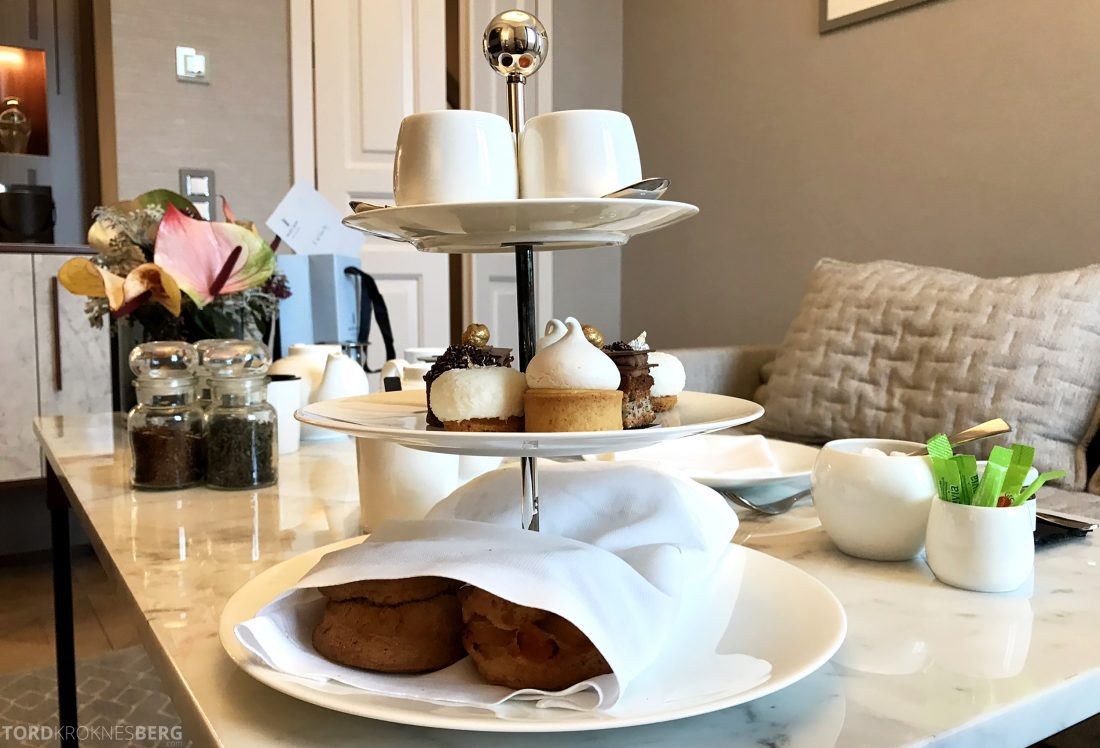 Ritz-Carlton Hotel de la Paix Genève afternoon tea