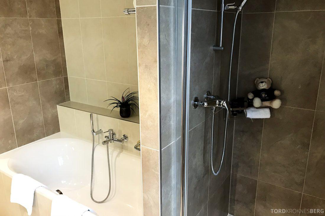 Ritz-Carlton Hotel de la Paix Genève dusj og badekar