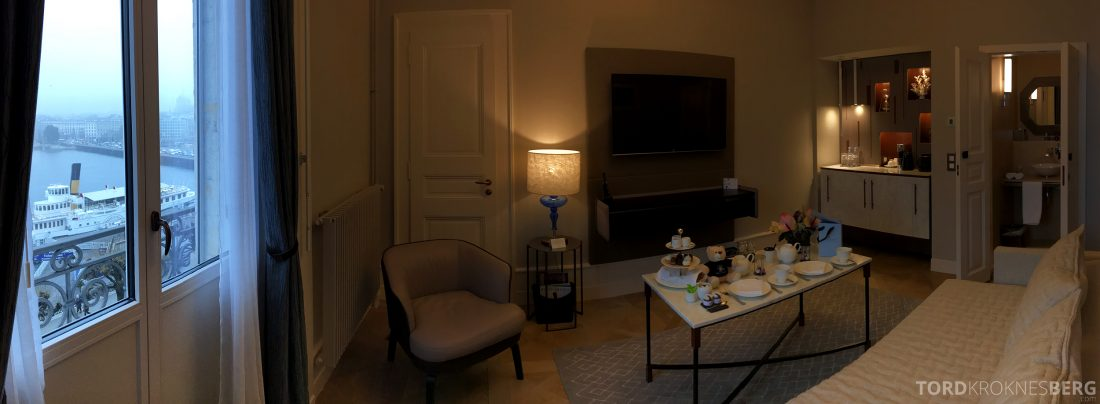 Ritz-Carlton Hotel de la Paix Genève panorama stue