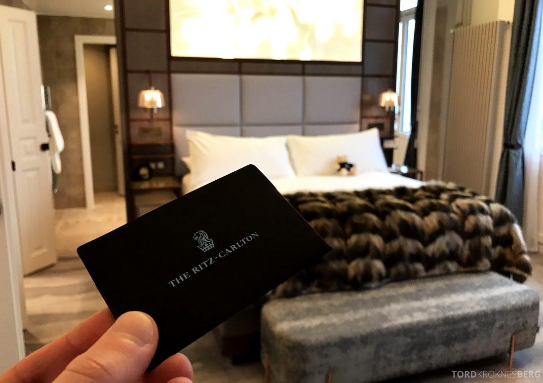 Ritz-Carlton Hotel de la Paix Genève nøkkelkort