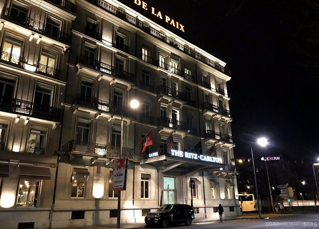 Ritz-Carlton Hotel de la Paix Genève fasade