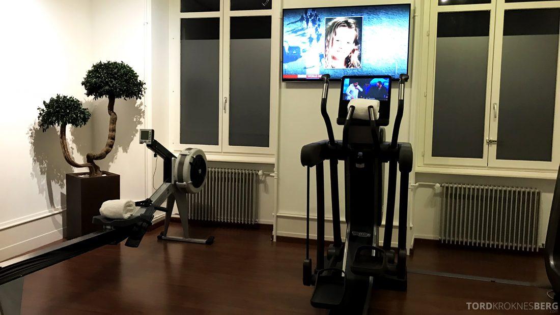 Ritz-Carlton Hotel de la Paix Genève fitness center