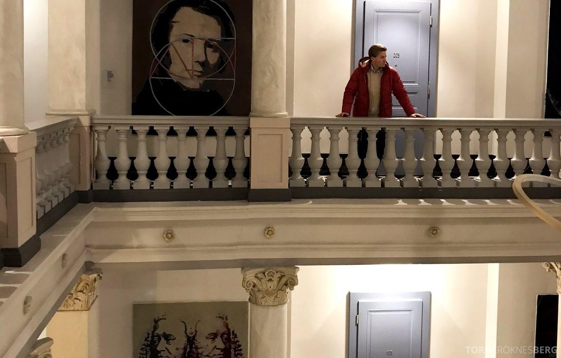 Ritz-Carlton Hotel de la Paix Genève Tord Kroknes Berg korridor
