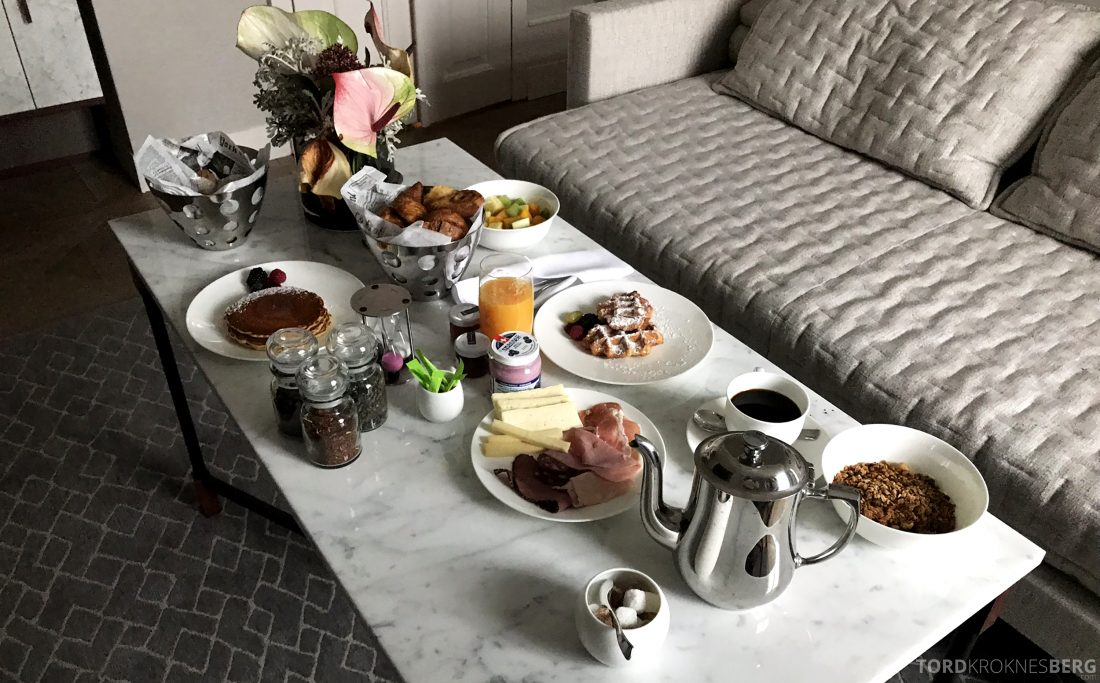 Ritz-Carlton Hotel de la Paix Genève frokost