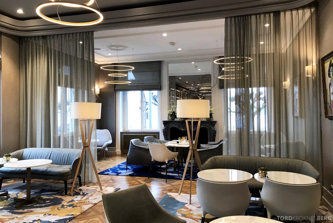 Ritz-Carlton Hotel de la Paix Genève restaurant