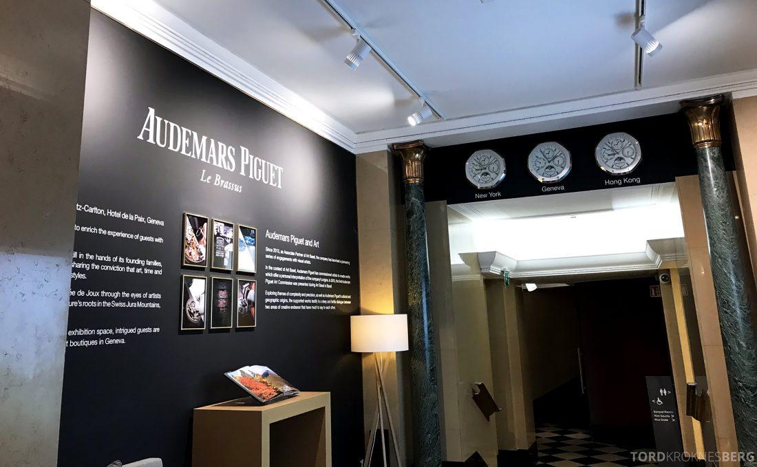 Ritz-Carlton Hotel de la Paix Genève Audemars Piguet