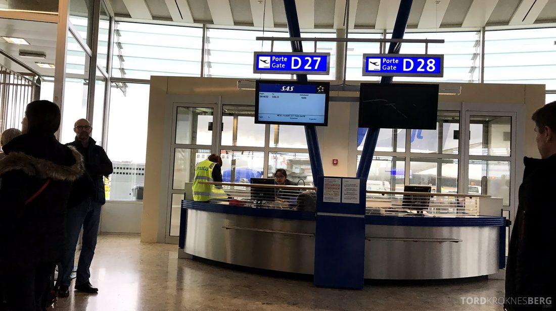 SAS JetTime Geneva Oslo gate