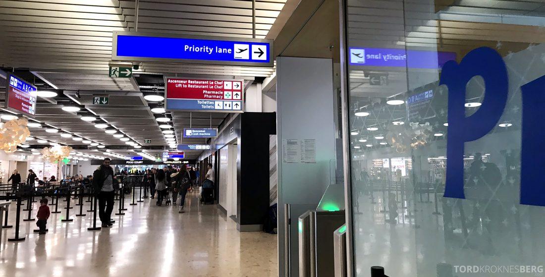SAS JetTime Geneva Oslo fast track