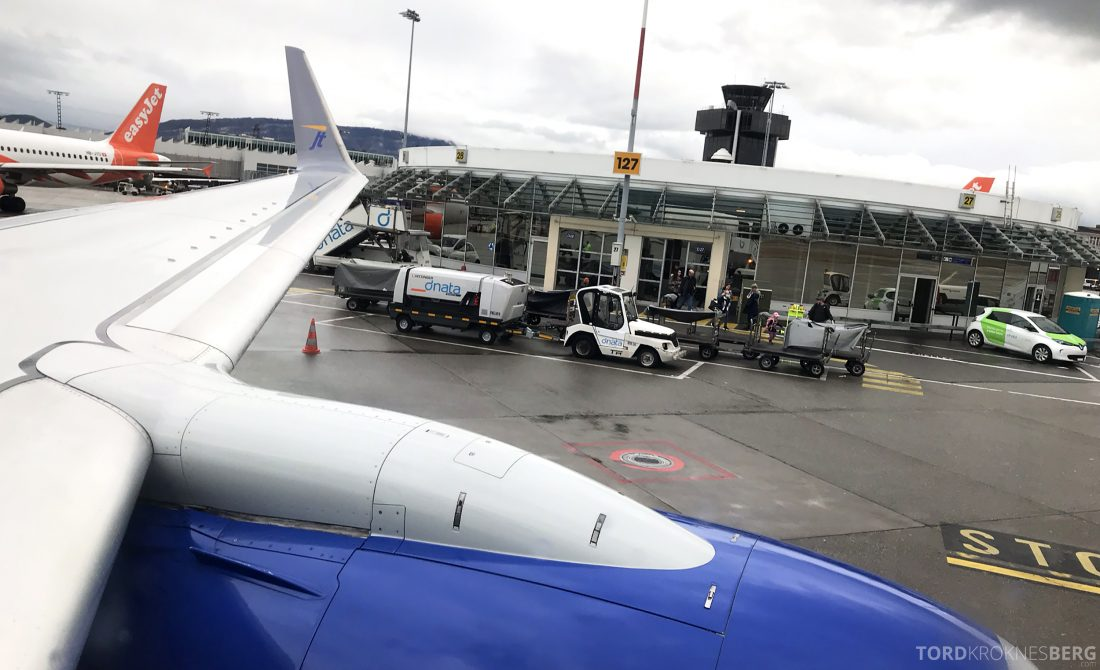 SAS JetTime Geneva Oslo adjø