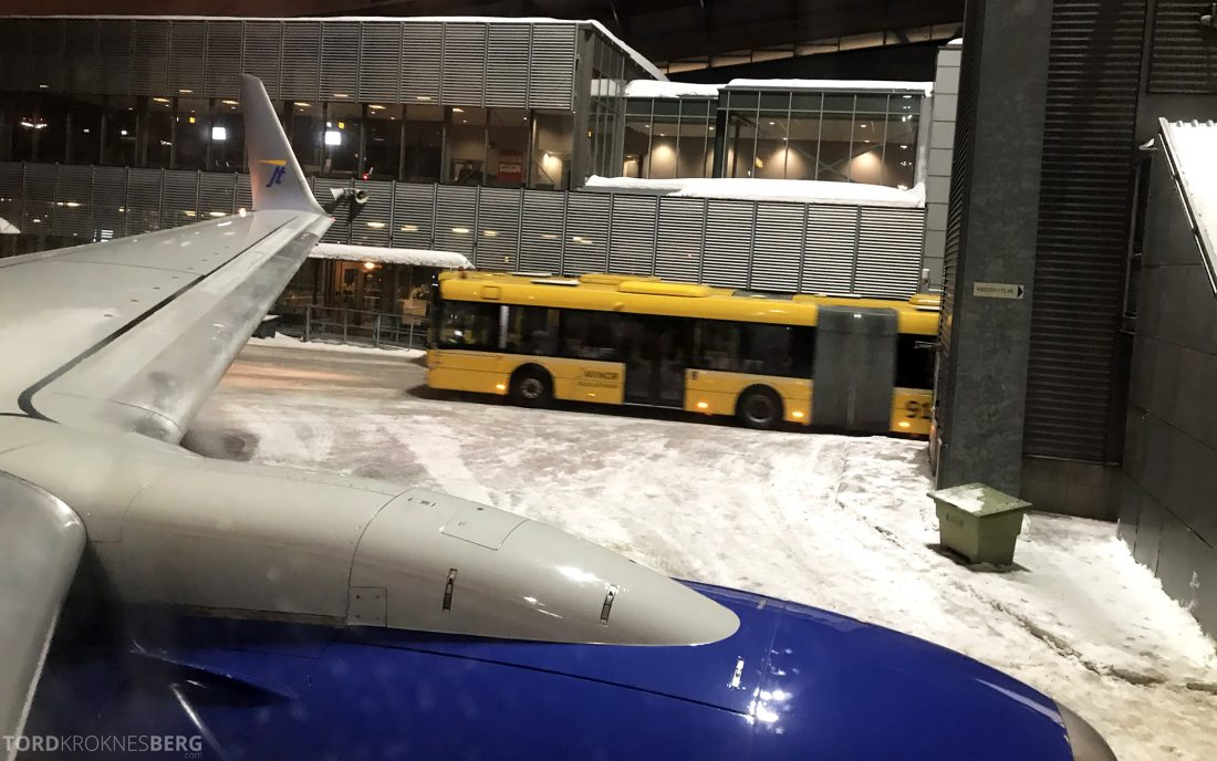 SAS JetTime Geneva Oslo Gardermoen