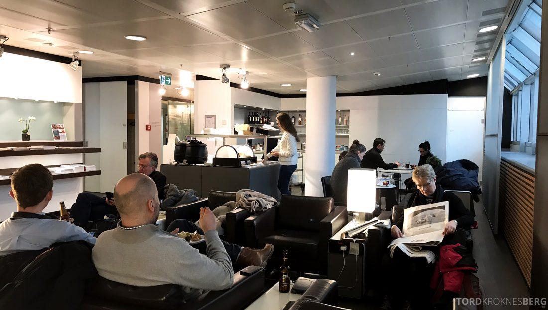 SWISS Senator Lounge Geneva oversikt