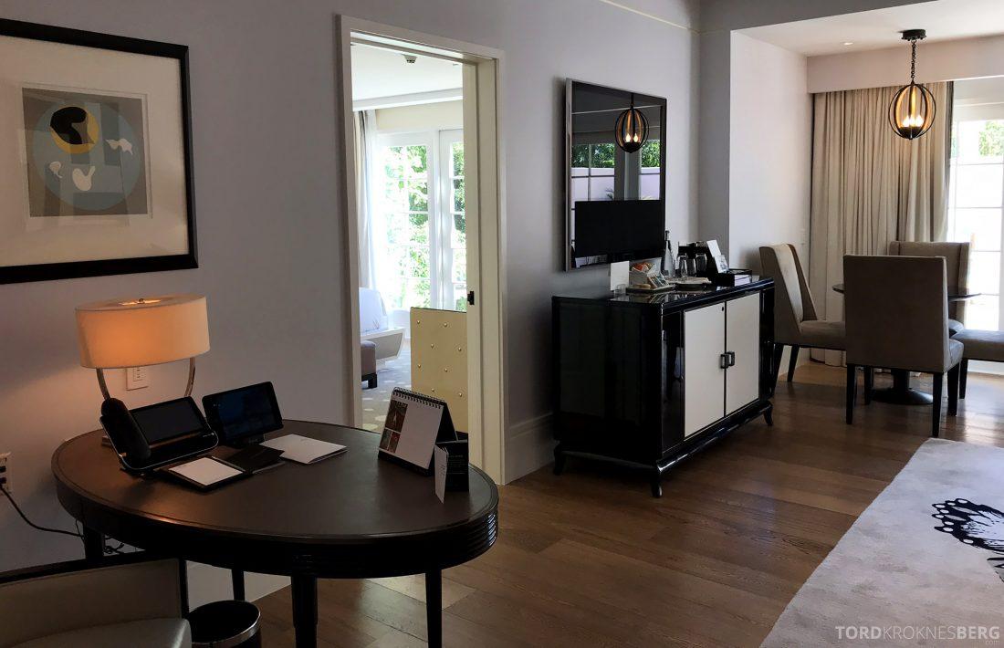 Hotel Bel-Air Los Angeles suite oversikt