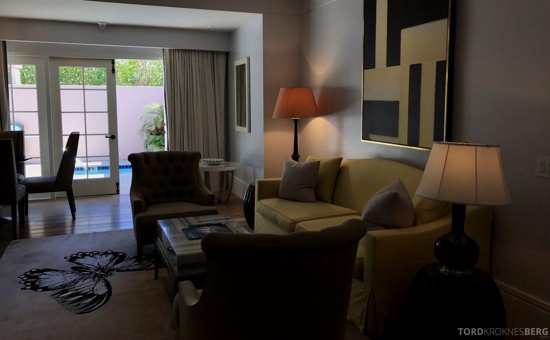 Hotel Bel-Air Los Angeles sofagruppe
