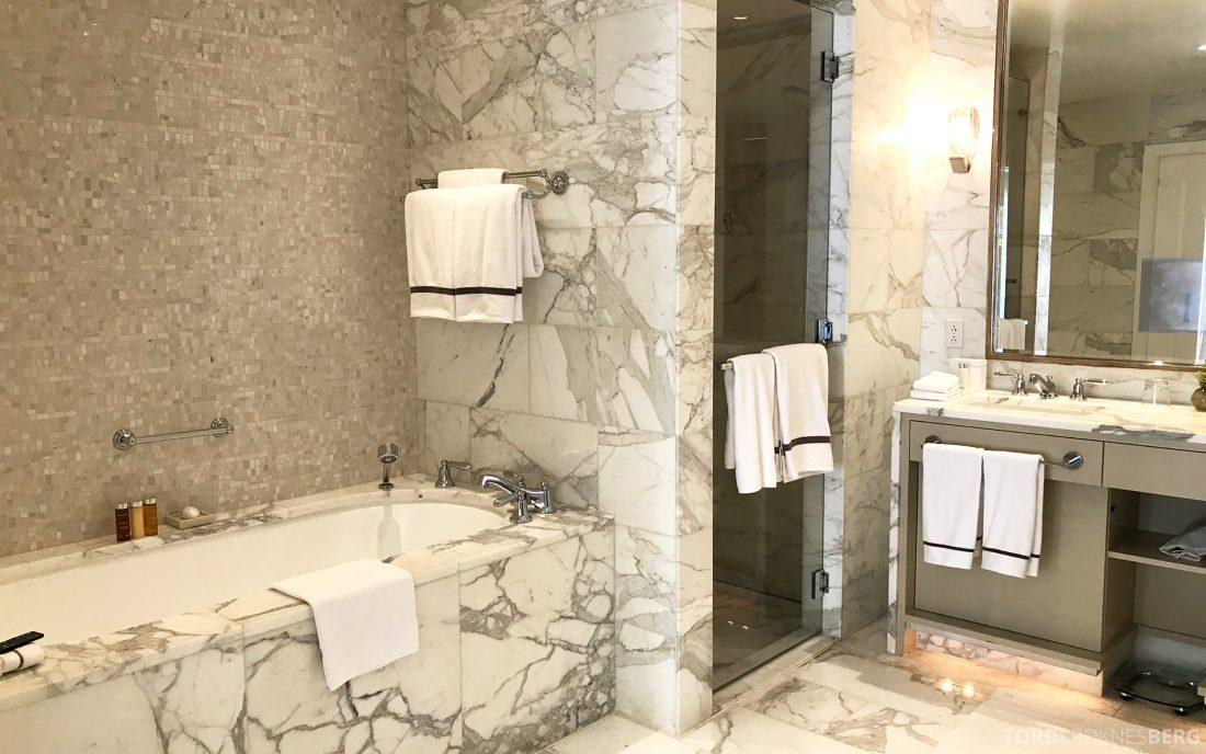 Hotel Bel-Air Los Angeles marmor bad