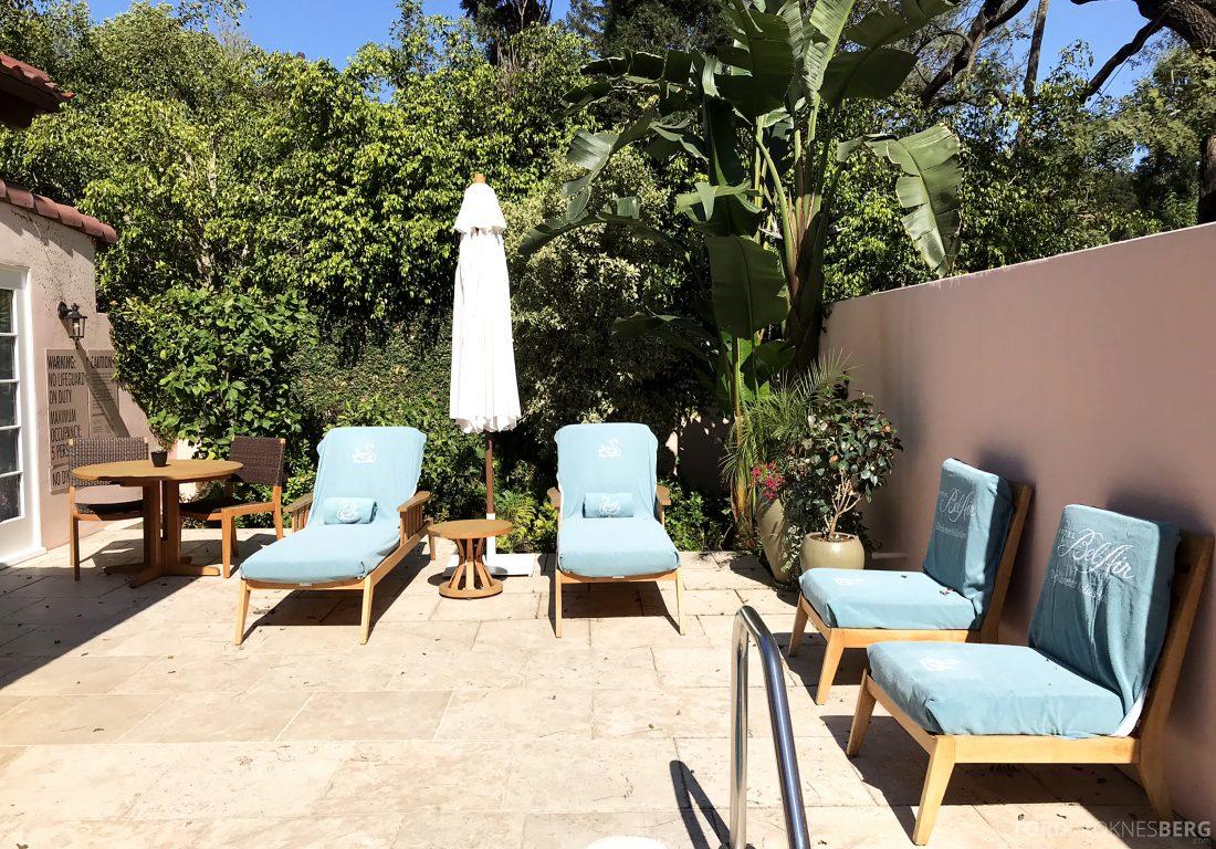 Hotel Bel-Air Los Angeles terrasse