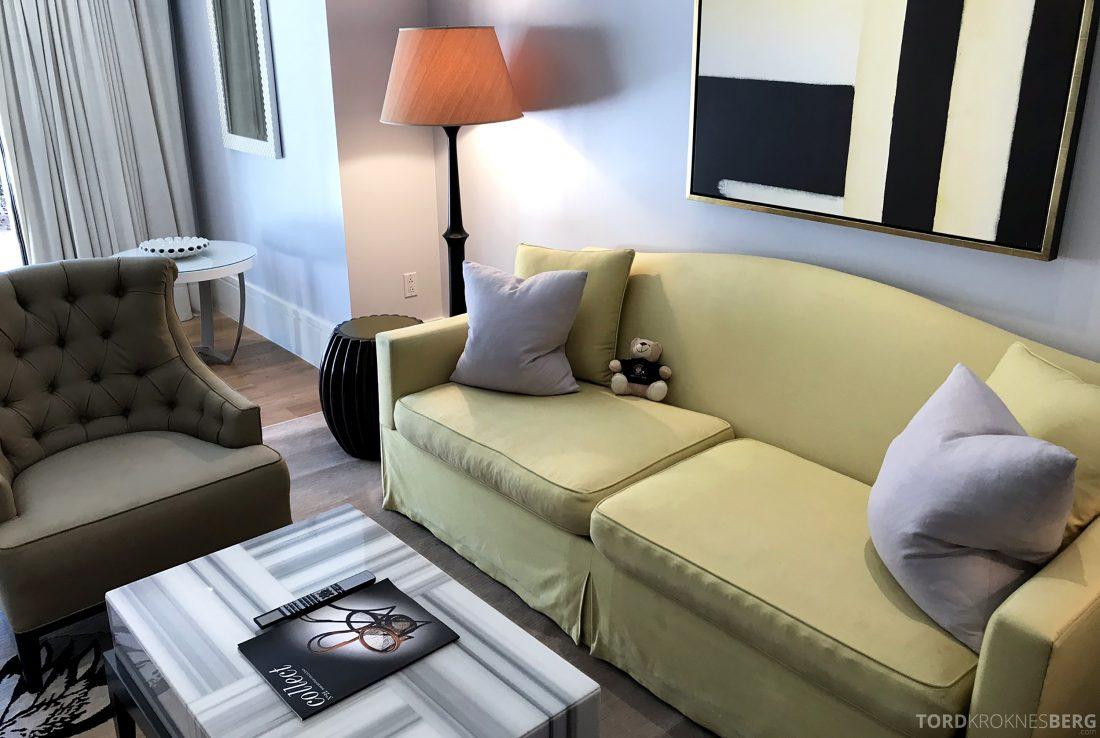 Hotel Bel-Air Los Angeles reisefølget sofa