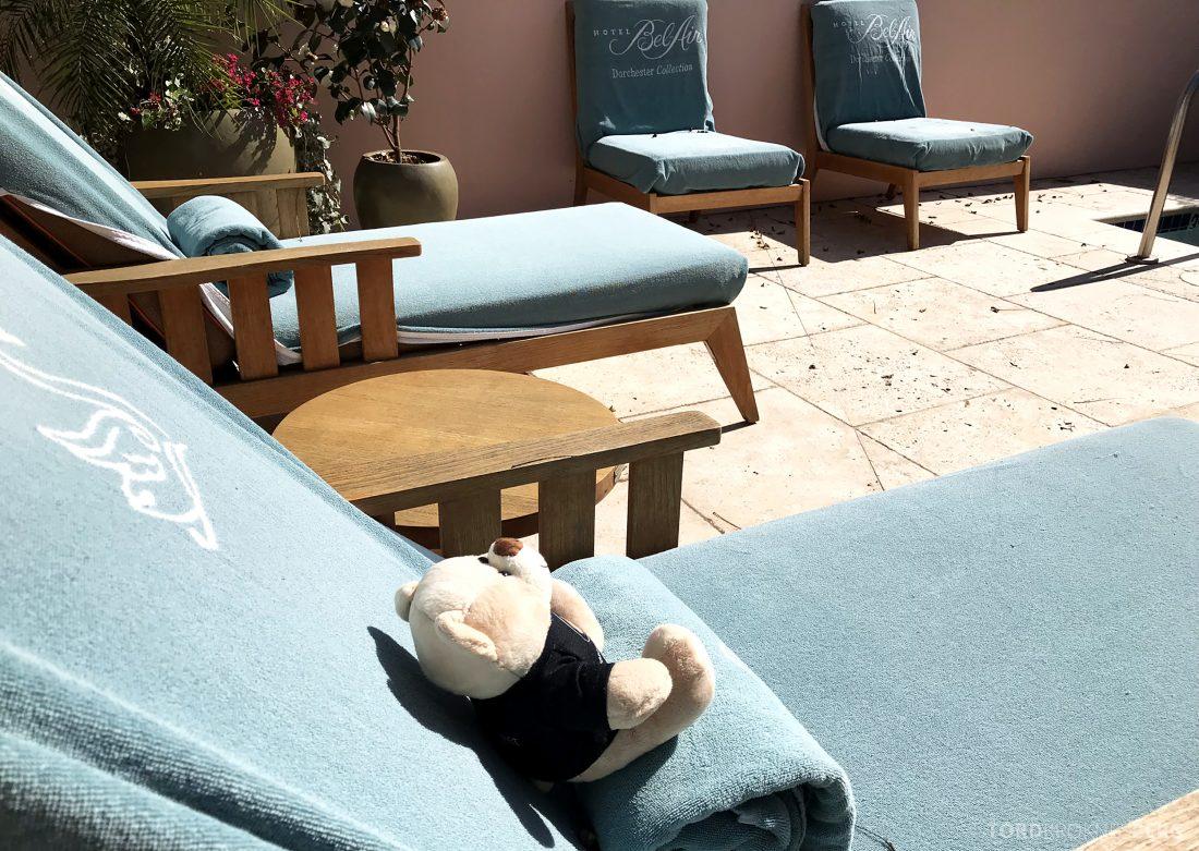 Hotel Bel-Air Los Angeles reisefølget sol