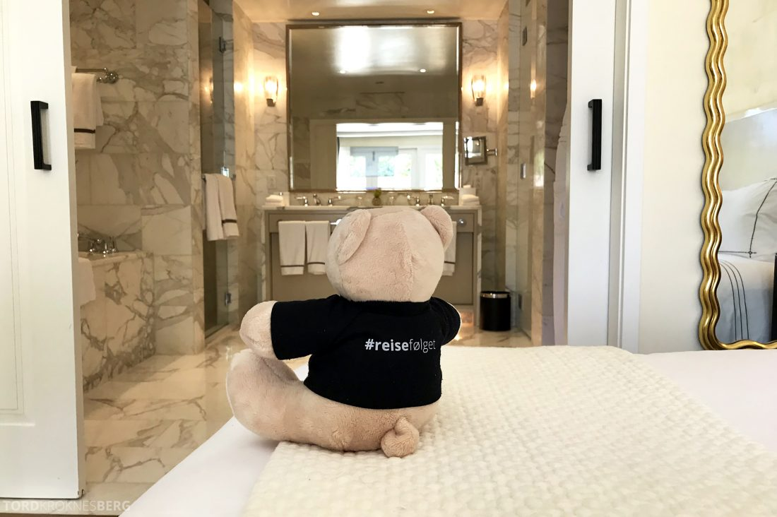 Hotel Bel-Air Los Angeles reisefølget seng