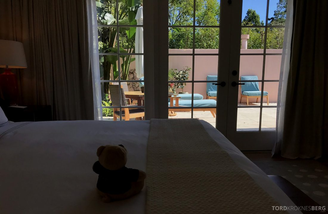 Hotel Bel-Air Los Angeles utsikt