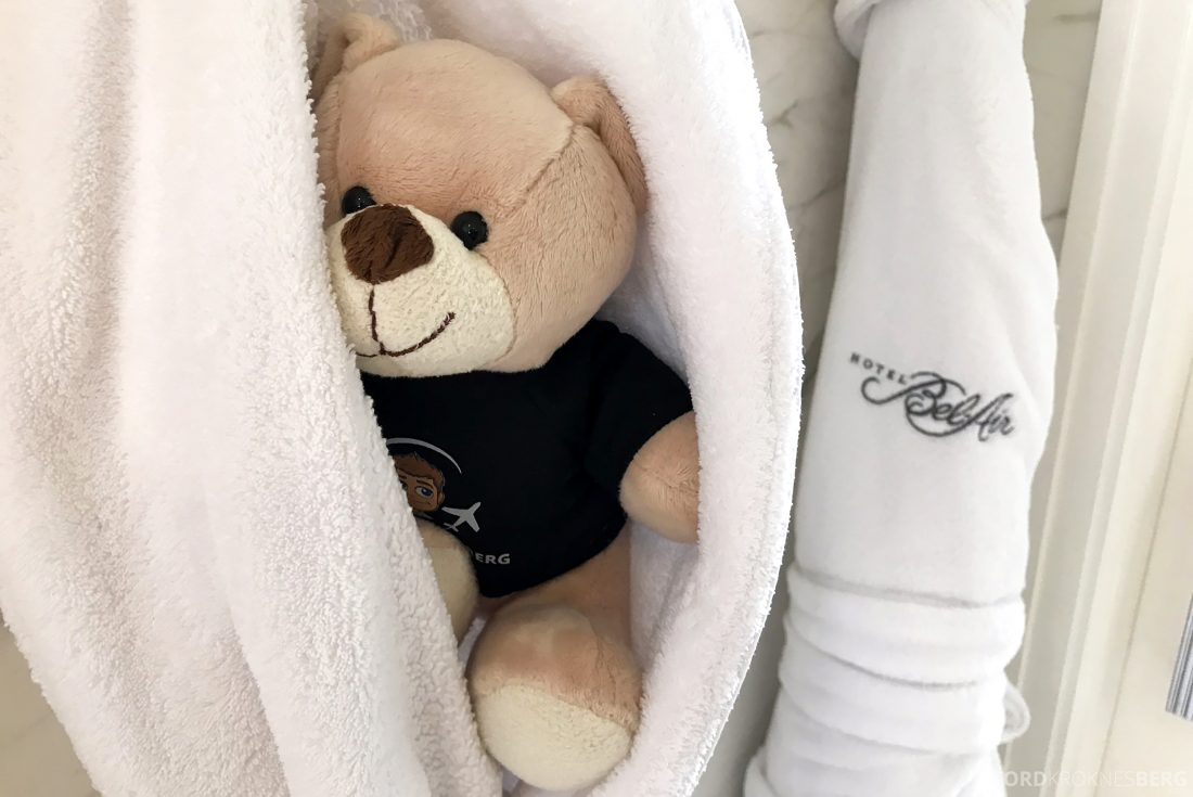 Hotel Bel-Air Los Angeles badekåpe
