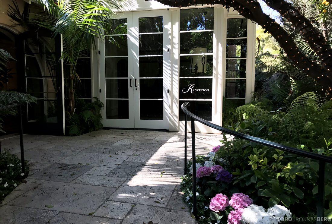 Hotel Bel-Air Los Angeles resepsjon inngang