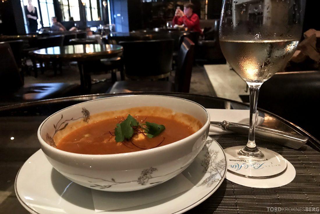 Hotel Bel-Air Los Angeles suppe bar