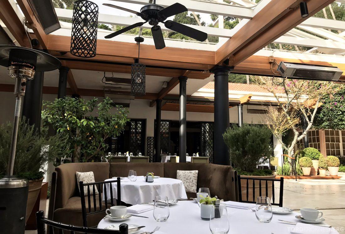 Hotel Bel-Air Los Angeles frokostsal