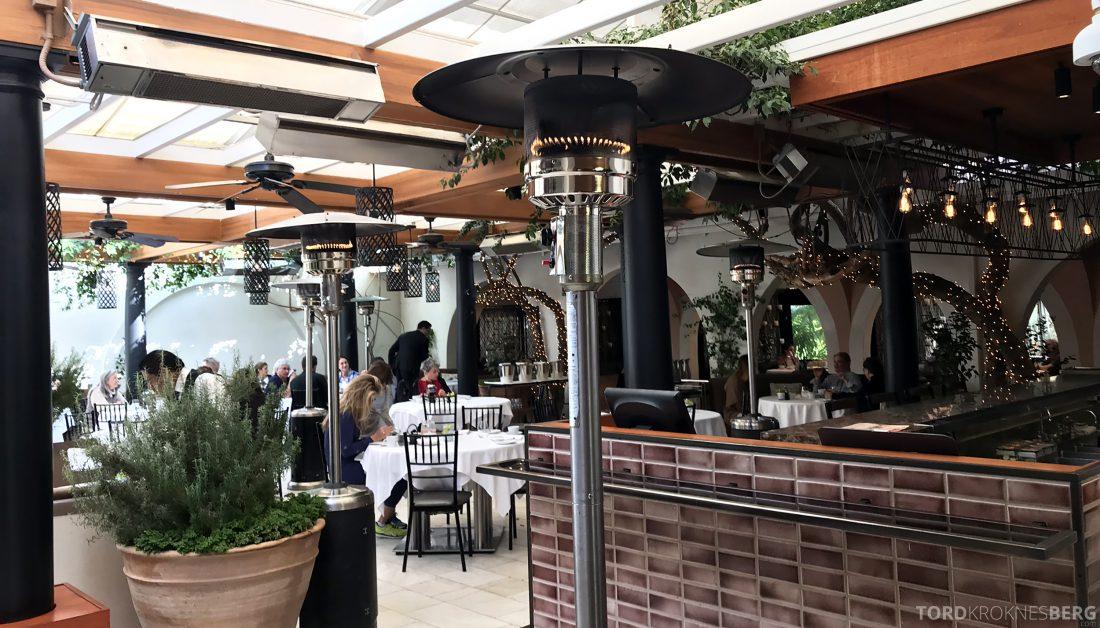 Hotel Bel-Air Los Angeles restaurant