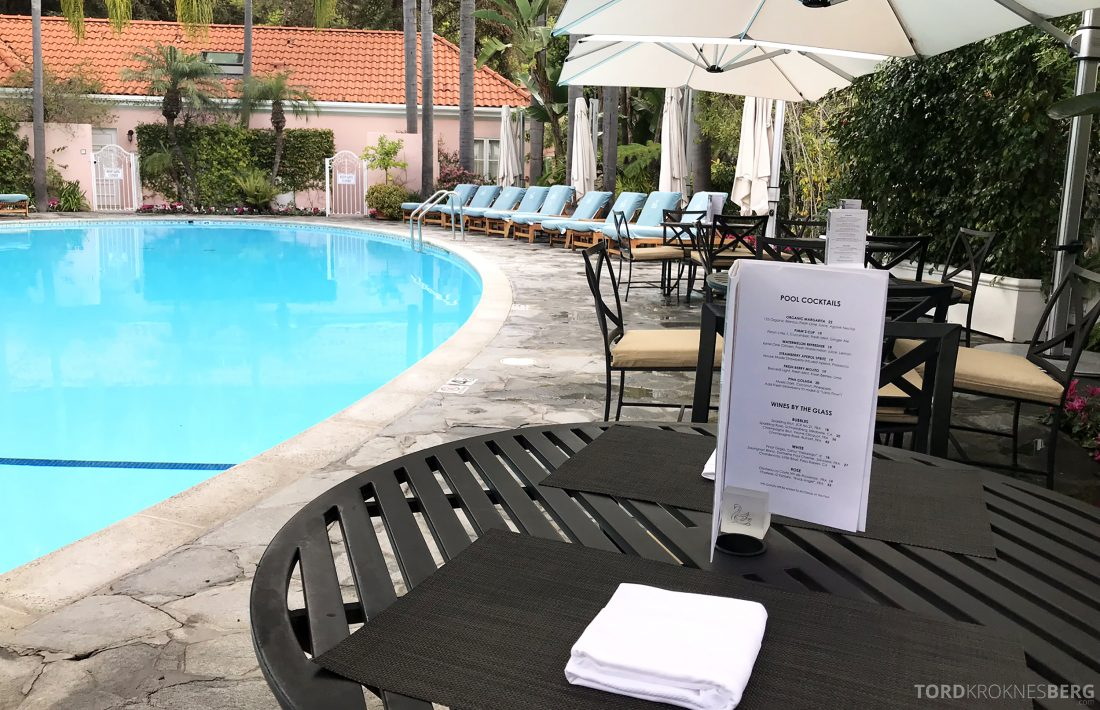 Hotel Bel-Air Los Angeles poolbar