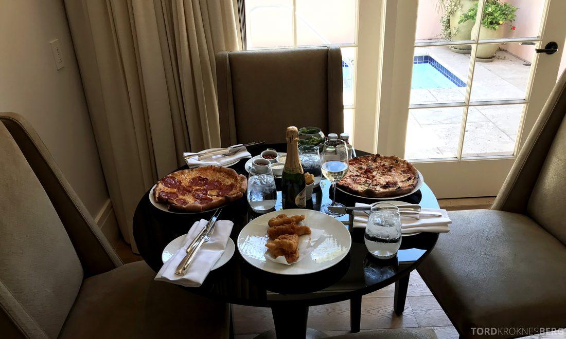 Hotel Bel-Air Los Angeles room service