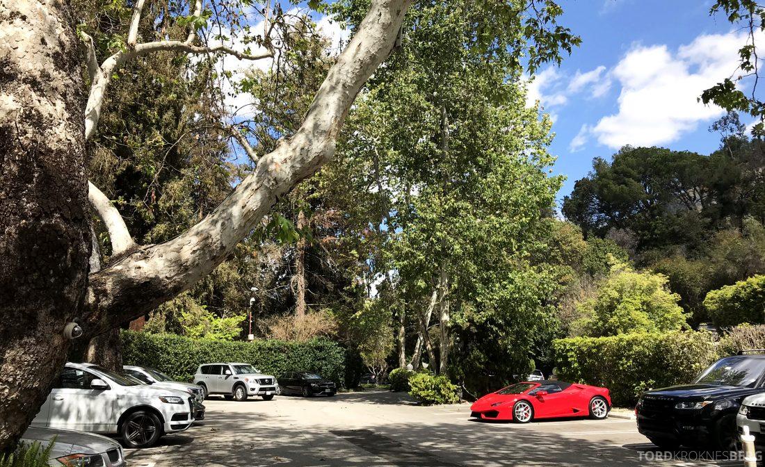 Hotel Bel-Air Los Angeles parkering
