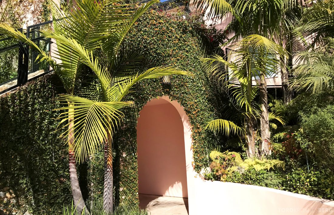 Hotel Bel-Air Los Angeles grønt