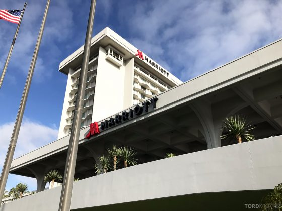 Marriott Hotel LAX Los Angeles fasade