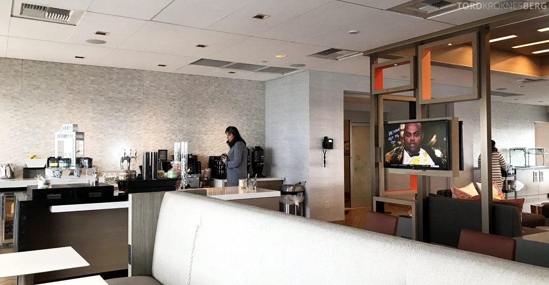 Marriott Hotel LAX Los Angeles Club Lounge snack buffet