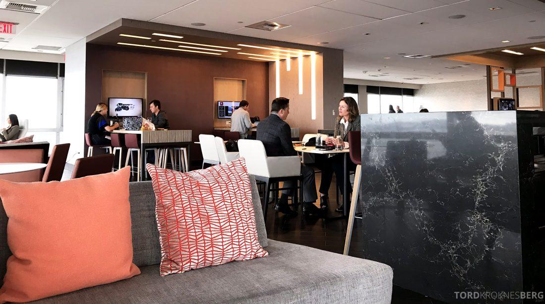 Marriott Hotel LAX Los Angeles Club Lounge sitteplasser