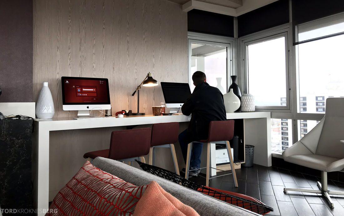 Marriott Hotel LAX Los Angeles Club Lounge datakrok