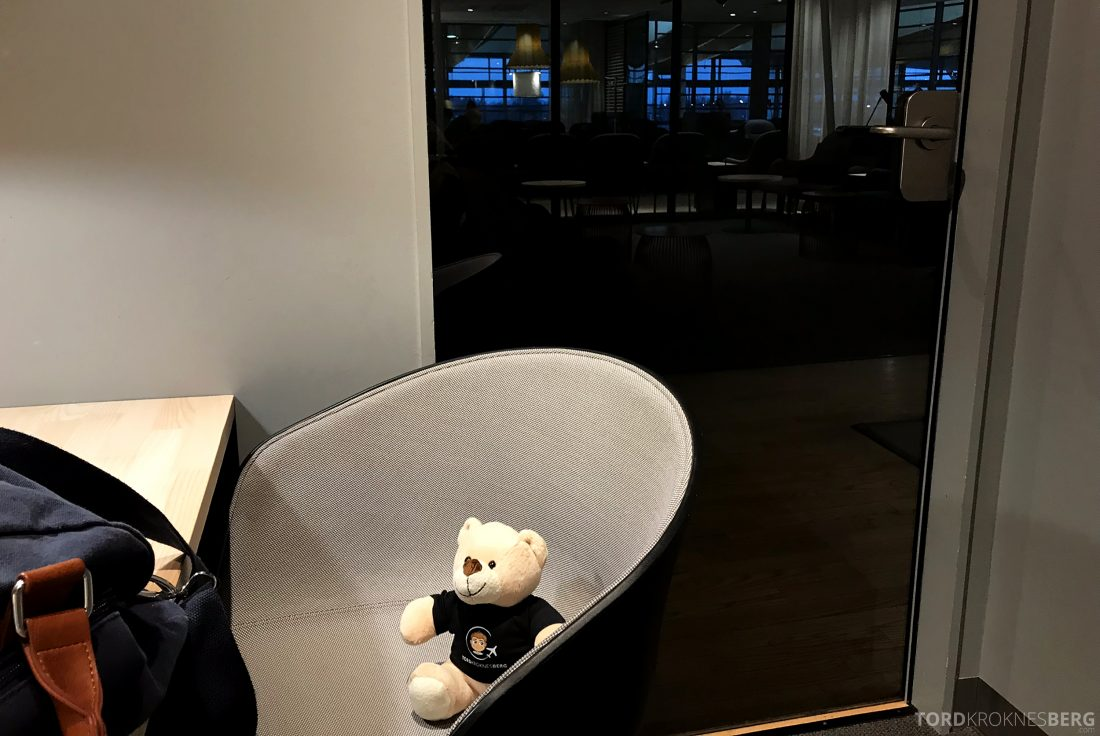 SAS Business Class Oslo Los Angeles lounge